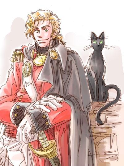 ウィタード中尉とカスパー*