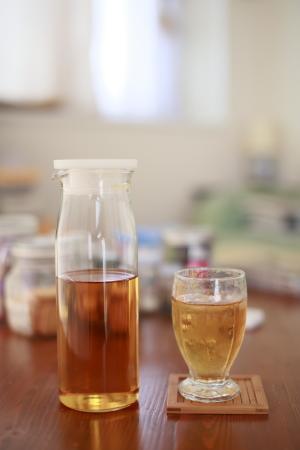 阿里山烏龍茶の冷茶