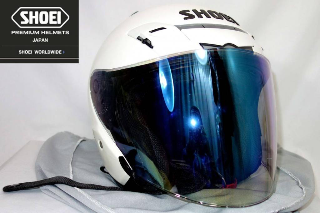SHOEIショウエイJ-FORCE3ヘルメットクリスタルホワイト