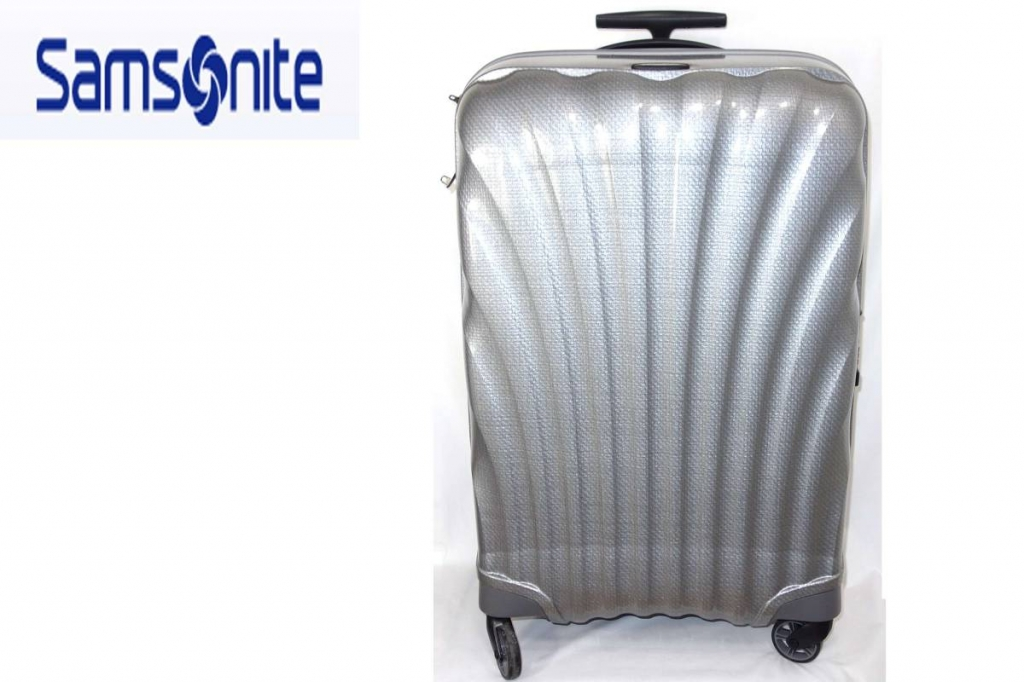 サムソナイトSamsoniteスーツケースコスモライトスピナー69LシルバーCosmoliteSPINNER超軽量衝撃耐性最強