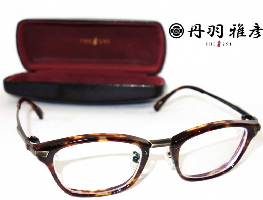 丹羽雅彦THE291鯖江眼鏡チタン鼈甲眼鏡NM-113セルロイドメガネべっ甲フレーム