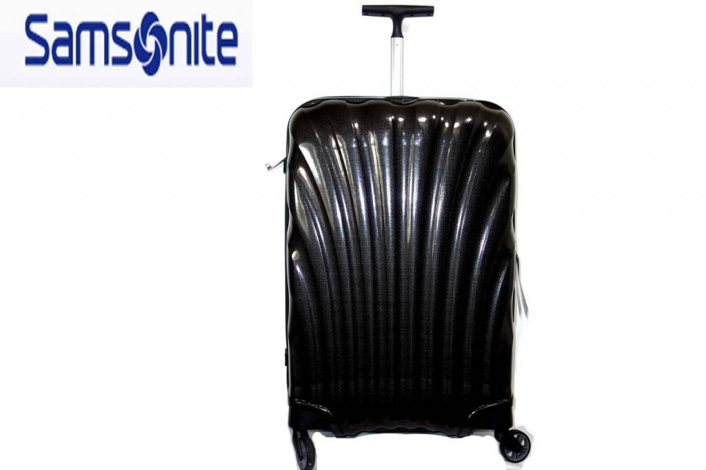 サムソナイトSamsoniteスーツケースコスモライトスピナー69L黒CosmoliteSPINNER超軽量衝撃耐性最強