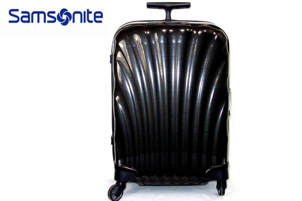 サムソナイトSamsoniteスーツケースコスモライトスピナー55黒CosmoliteSPINNER超軽量衝撃耐性最強