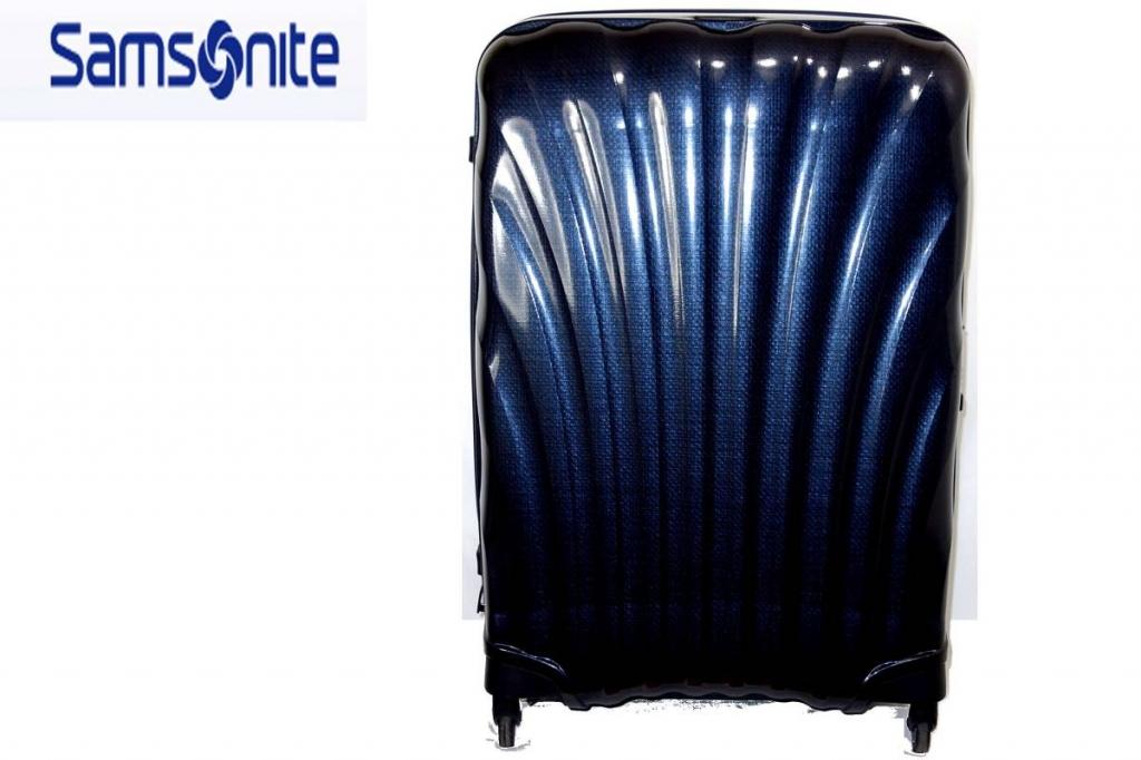 サムソナイトSamsoniteスーツケースコスモライトスピナー94L紺CosmoliteSPINNER超軽量衝撃耐性最強
