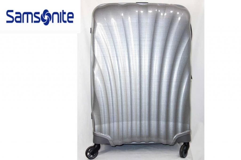 サムソナイトSamsoniteスーツケースコスモライトスピナーシルバー95LCosmoliteSPINNER超軽量衝撃耐性最強