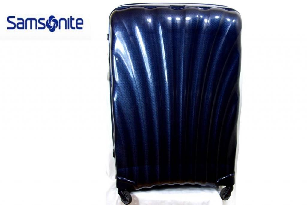サムソナイトSamsoniteスーツケースコスモライトスピナー86/144L紺CosmoliteSPINNER超軽量衝撃耐性最強