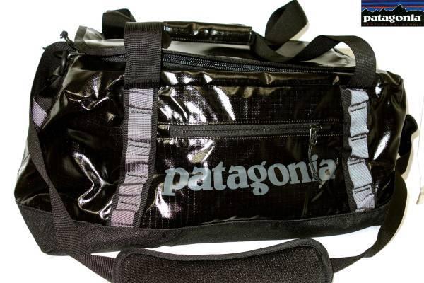 パタゴニアPATAGONIAブラックホールダッフルバッグ黒BLACKHOLEDUFFLE45L