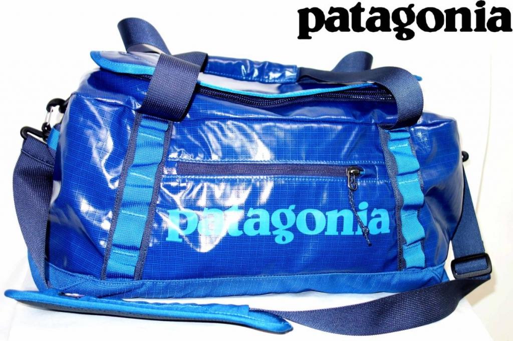 パタゴニアPATAGONIAブラックホールダッフルバッグ青BLACKHOLEDUFFLE45L