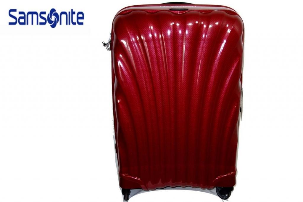 サムソナイトSamsoniteスーツケースコスモライトスピナー69L赤CosmoliteSPINNER超軽量衝撃耐性最強