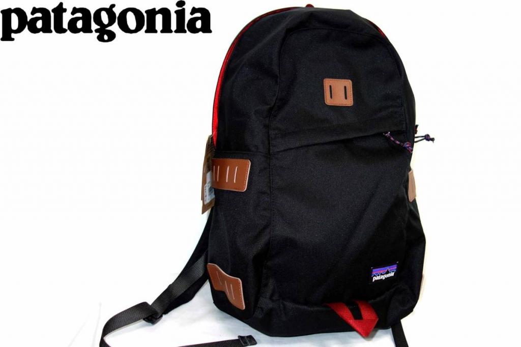 パタゴニアPATAGONIAアイアンウッドIRONWOODバックパックリュックサック黒赤48020