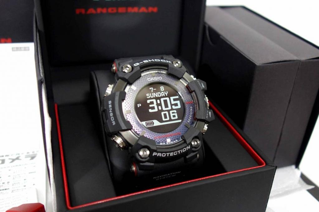 カシオGショックSHOCKうで時計レンジマンRANGEMANGPR-B1000-1JR