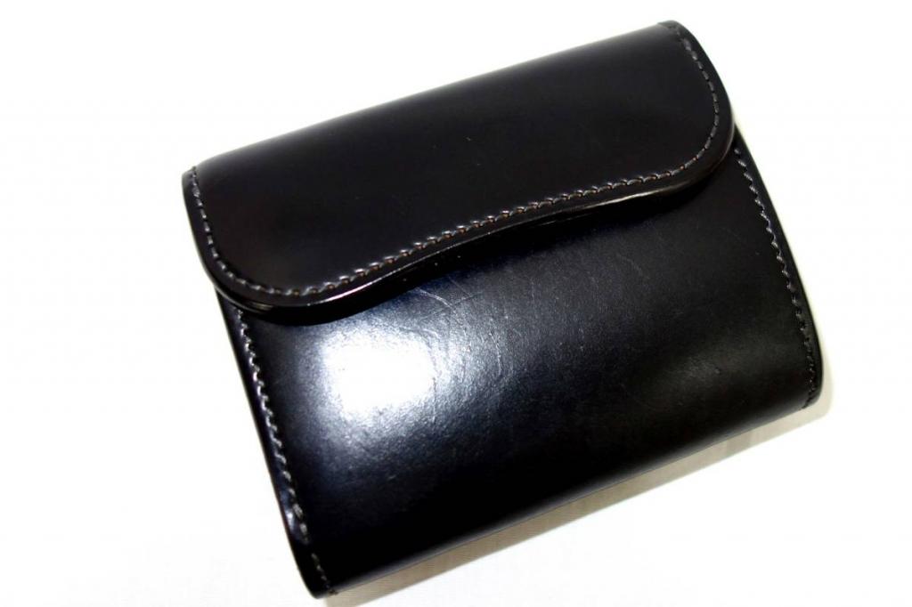 ワイルドスワンズwildswansENOイーノコードバン3つ折り財布
