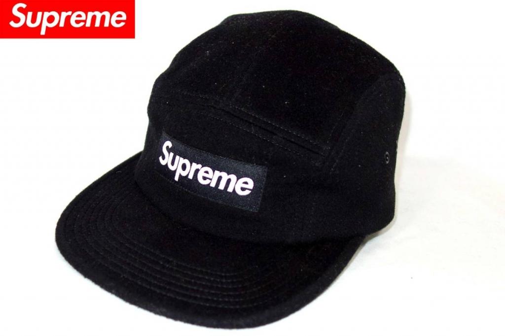 シュプリームSupremeロロピアーナ別注ウールキャップLoroPianaボックスロゴWOOLCAMPCAP帽子