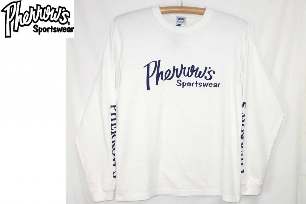 フェローズPherrows長袖ロンTeeシャツ18S-PLT1