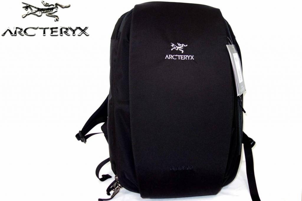 アークテリクスArcteryxブレード20BLADE20黒バックパックリュックサックデイパック