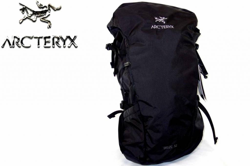 アークテリクスArcteryxブライズBRIZE32黒バックパックリュックサックデイパック