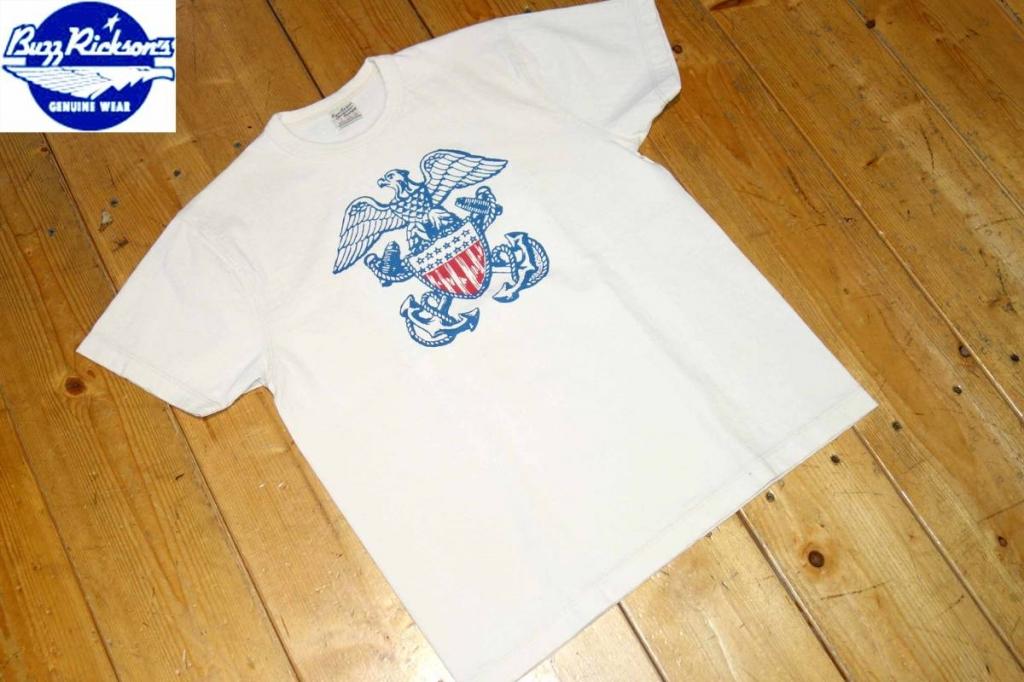 バズリクソンズBUZZRICKSONSミリタリーウェアTシャツ