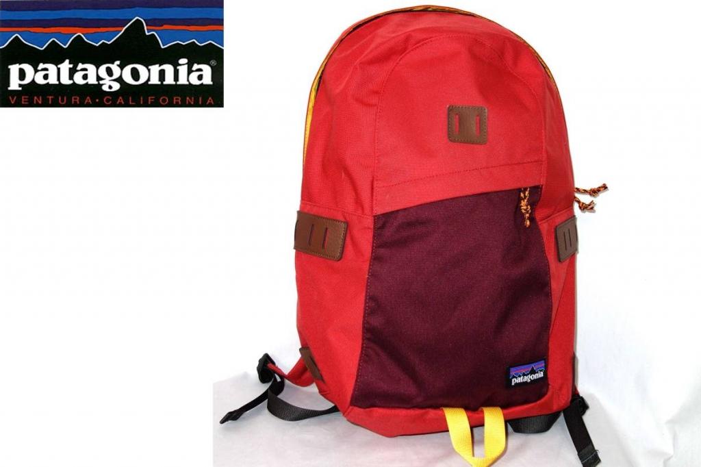 パタゴニアPATAGONIAアイアンウッドIRONWOODバックパックリュックサック48020赤オレンジ