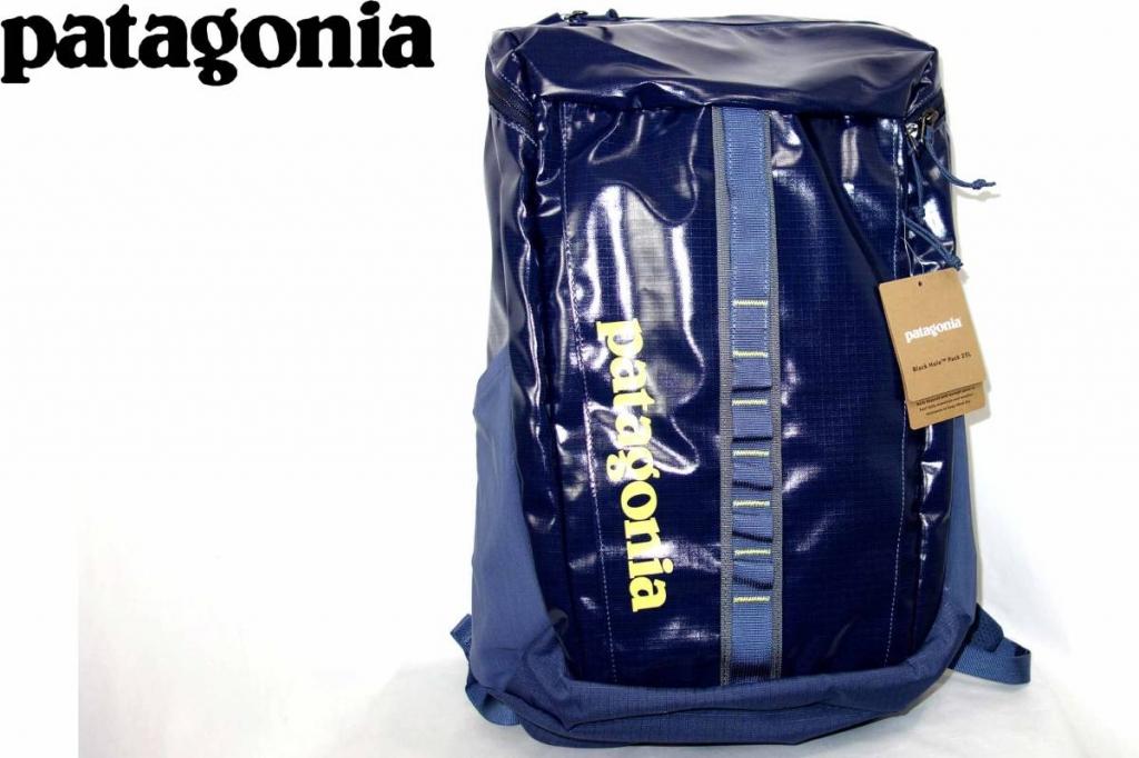 パタゴニアPATAGONIAブラックホールパックBLACKHOLEバックパックデイパックバッグギア49296紺黄色