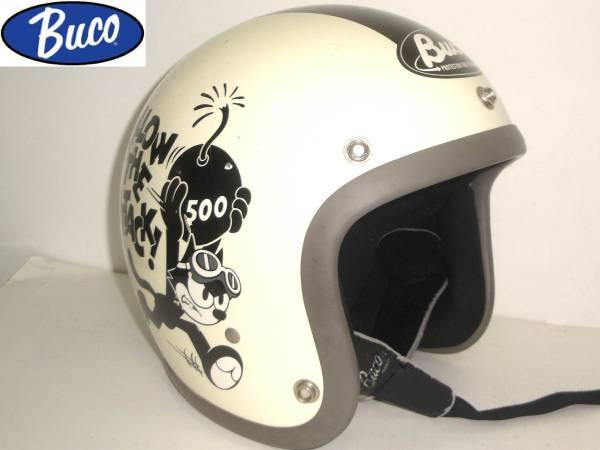 トイズマッコイTOYSMcCOYブコBUCOジェットヘルメットFELIX