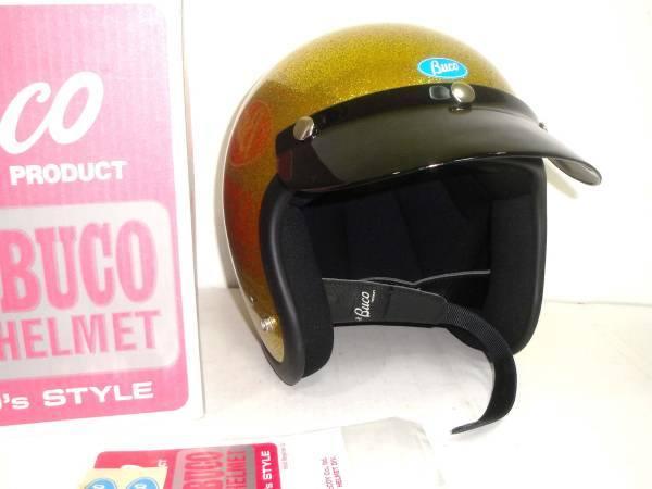トイズマッコイTOYSMcCOYブコBUCOジェットヘルメットメタルフレーク