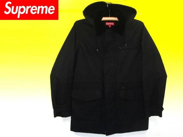 シュプリームSupremeオイルドフードコートジャケット