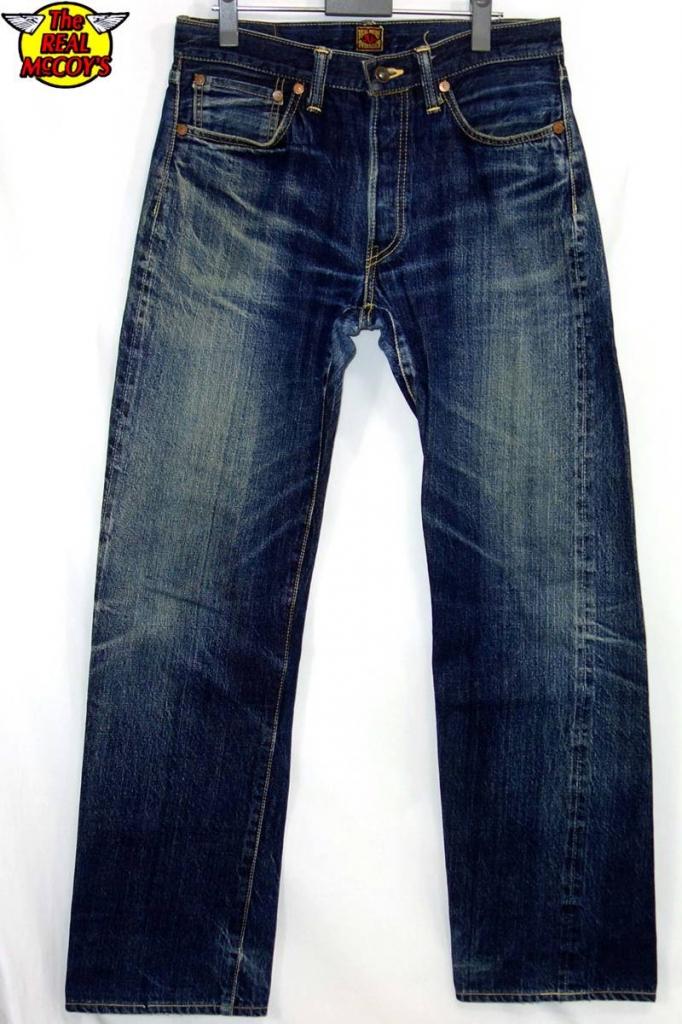 ザ・リアルマッコイズTHE REAL McCOY'SS613デニムパンツ33ジーンズ
