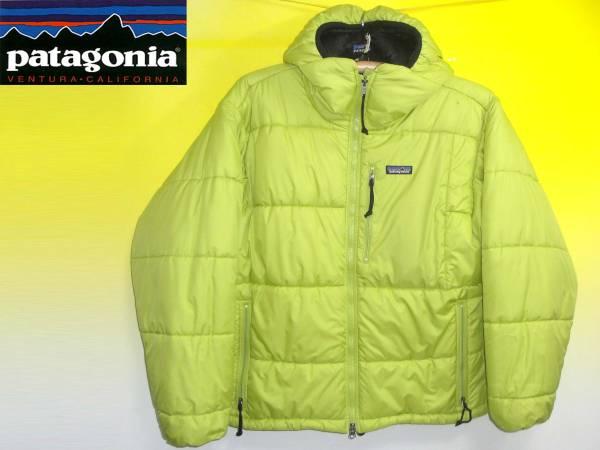 パタゴニアPATAGONIA2000年ダスパーカーDASPRKA黄緑