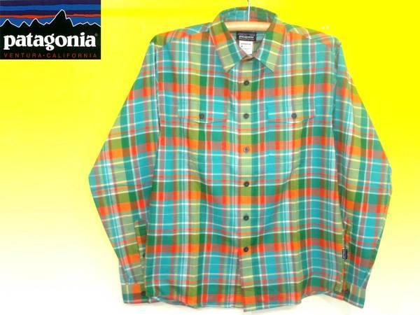 パタゴニアPATAGONIA53856BUCKSHOTフランネルシャツ