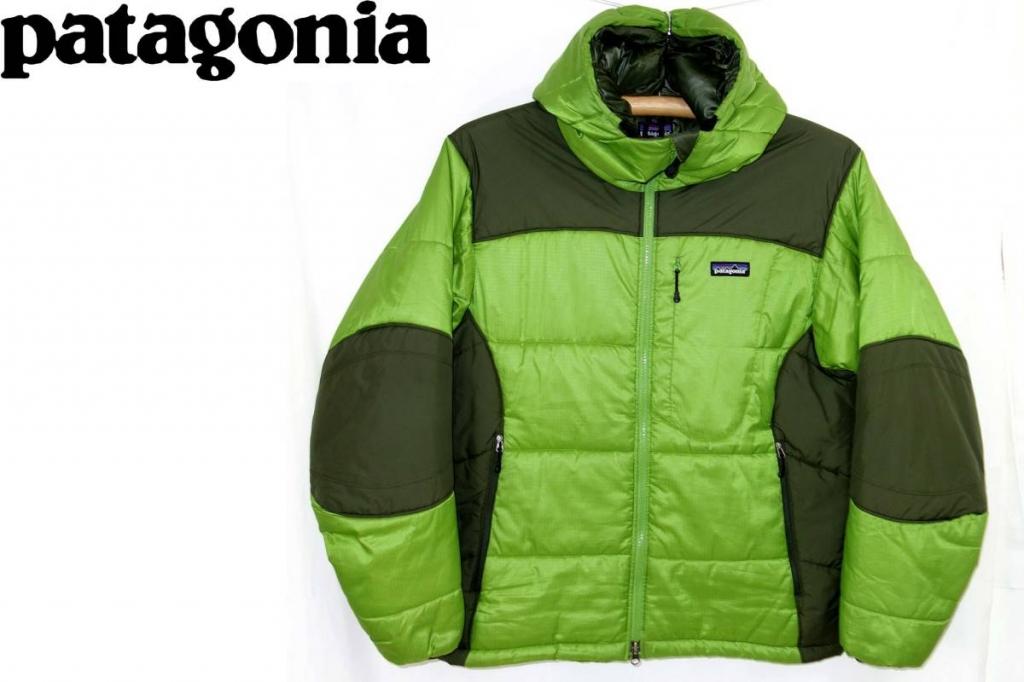 パタゴニアPATAGONIAダスパーカーダウンジャケットDASPARKA緑S84099