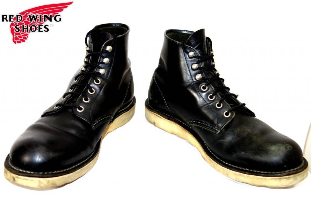 レッドウィングREDWINGプレーントゥ8165ワークブーツ