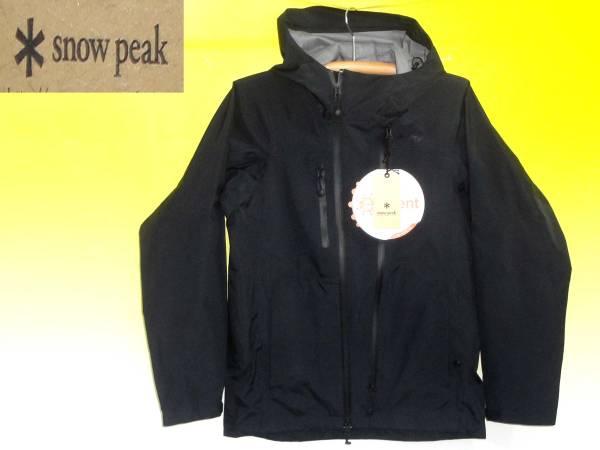 スノーピークSnowPeakジャケットJK-15SU00103BK2015モデル