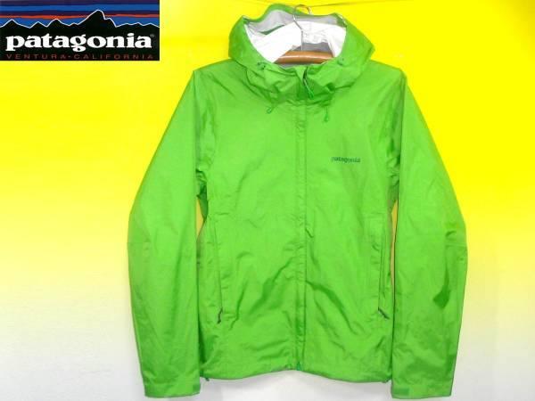 パタゴニアPATAGONIAトレントシェルジャケット83801黄緑