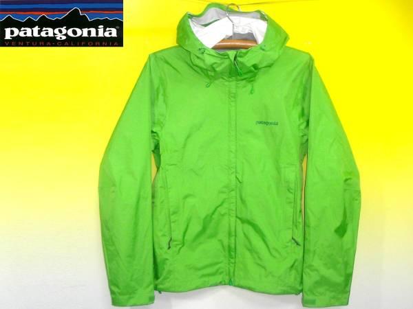 パタゴニアPATAGONIAトレントシェルジャケット黄緑83801