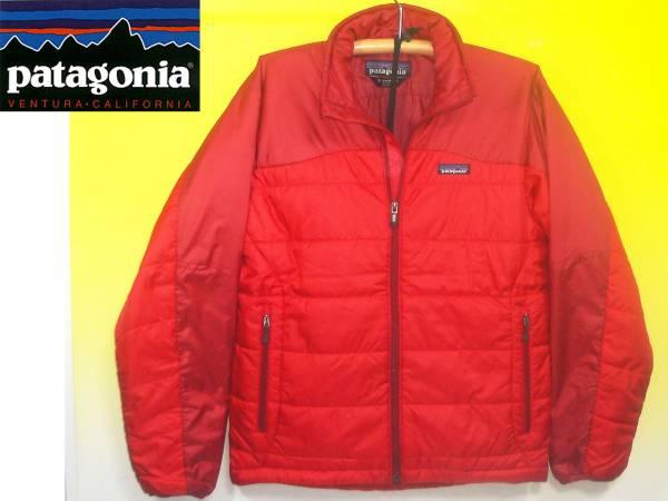 パタゴニアPATAGONIAマイクロパフジャケット赤83906F0