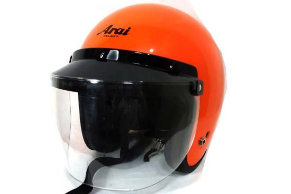 アライヘルメットARAIHELMETCLASSICSWヘルメット20010607製シールドバイザー付