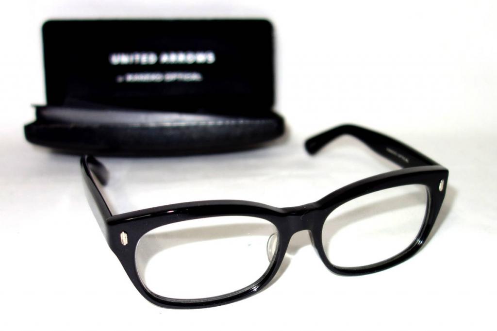 金子眼鏡KANEKO×ユナイテッドアローズ セルロイドフルリム眼鏡