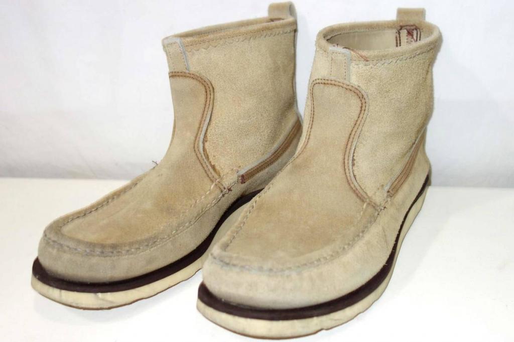 お買取り商品ラッセルモカシンRussell Moccasinノックアバウト9EKnock-A-Bout Bootsクレープソール