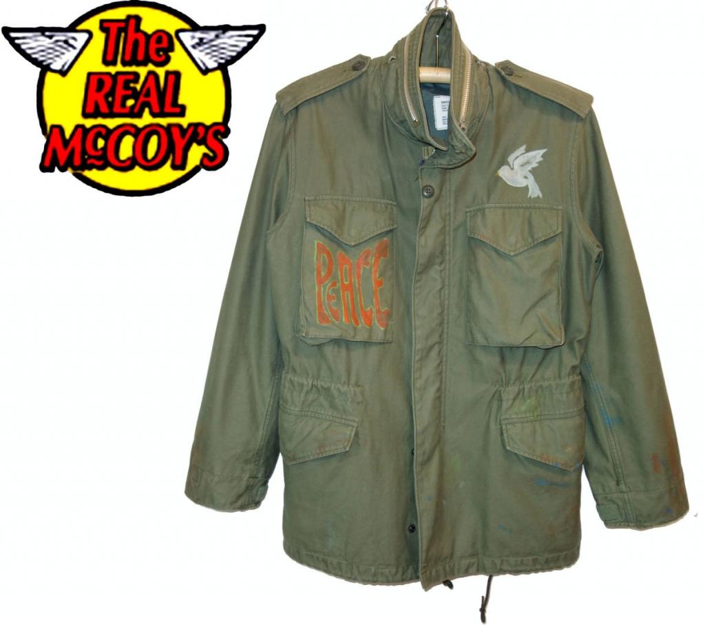 お買取り商品ザ・リアルマッコイズThe REAL McCOY'S M-65フィールドジャケットS店頭展示非売品未使用一点物