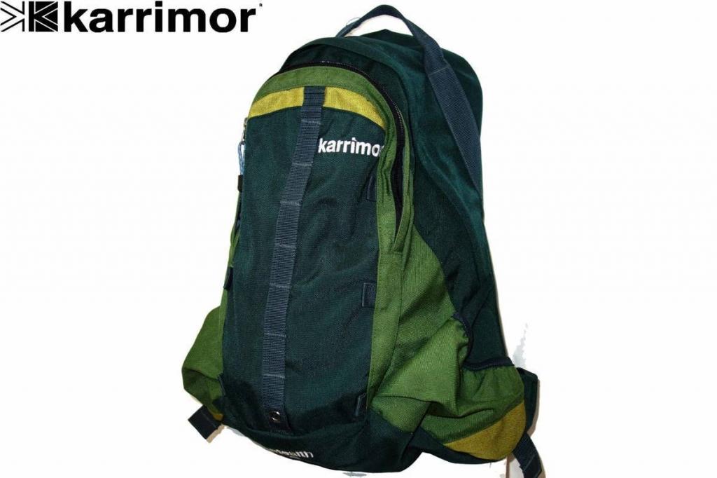 お買取商品カリマーkarrimorバックパックステルス33STEALTH緑リュックサック