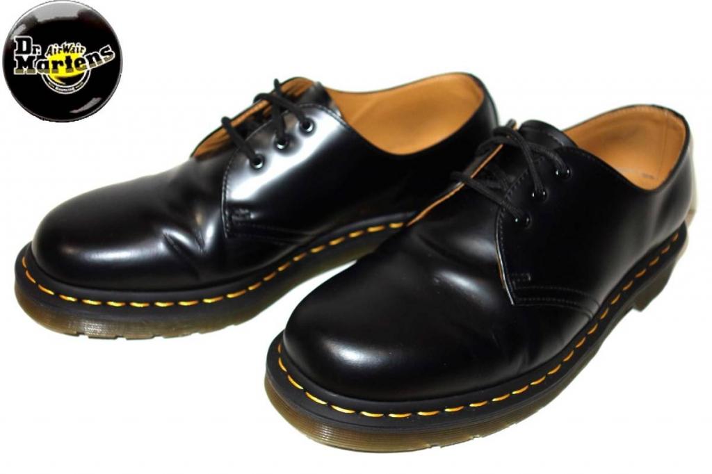 お買取商品ドクターマーチンDrMartens美品3ホールブーツ1461UK9黒 28cm