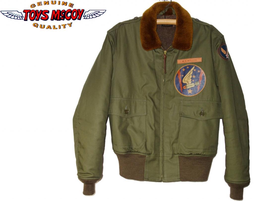 お買取商品トイズマッコイTOYSMcCOYフライトジャケット B-10カスタム FRENESI フレネシ 品番TMJ1829