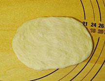 ごぼうチーズパン成型1