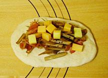 ごぼうチーズパン成型2