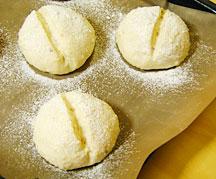 雑穀白パン成型二次発酵