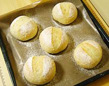 雑穀白パン焼成