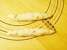 ソーセージパン成型2