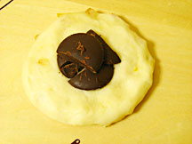 オレンジチョコパン成形1