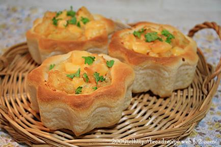 明太ポテサラパン