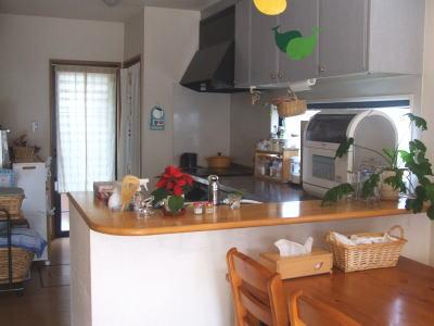 今のキッチン